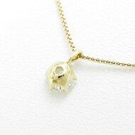 【新品】K18YG ダイヤモンドネックレス 0.432ct・H・SI2・VERYGOOD