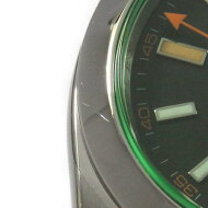 ロレックス 116400GV ミルガウス 自動巻