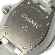 シャネル H1629 J12 38mmセラミック・12P 自動巻