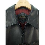 【未使用品】アールジェービー R.J.B(FLAT HEAD) レザージャケット