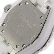 シャネル H2422 J12 33mm セラミック・8P クォーツ