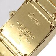 カルティエ W50002N2 タンクフランセーズ YG クォーツ