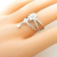 PT フラワー ダイヤモンドリング