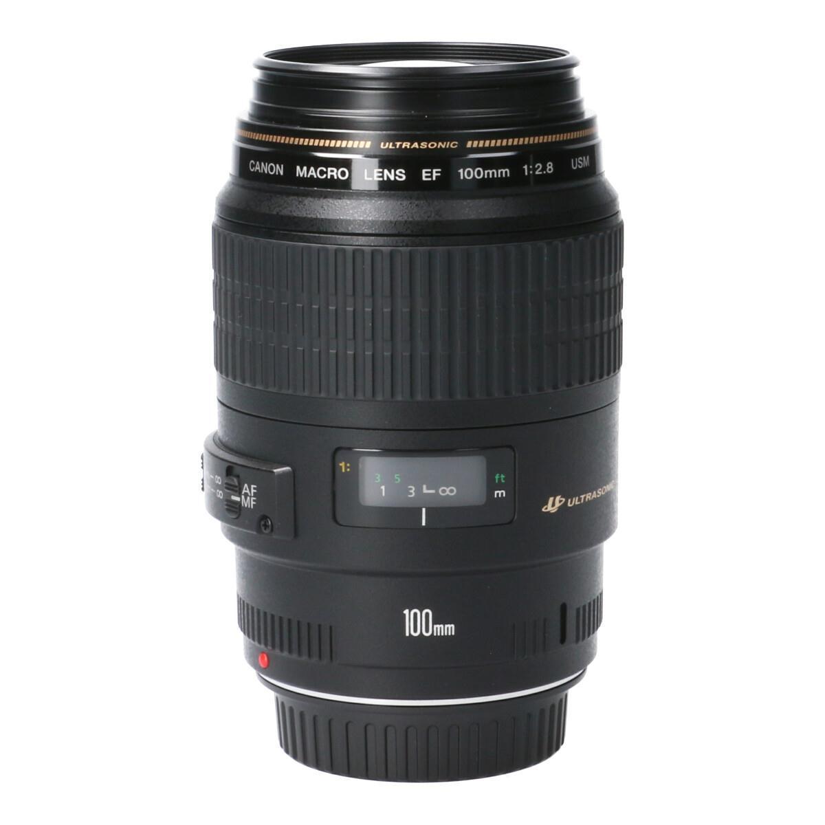 カメラ・ビデオカメラ・光学機器, カメラ用交換レンズ CANON EF100mm F28USM MACRO