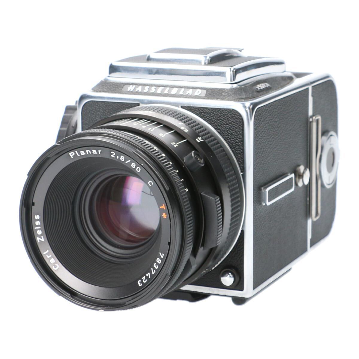 フィルムカメラ, フィルム一眼レフカメラ HASSELBLAD 501CM C80mm F28 A12