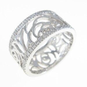 Chanel Camellia Medium Ring [Used]