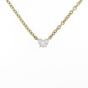 Cartier Heart Diamond Necklace [Used]