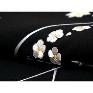 【新品】訪問着 刺繍加工