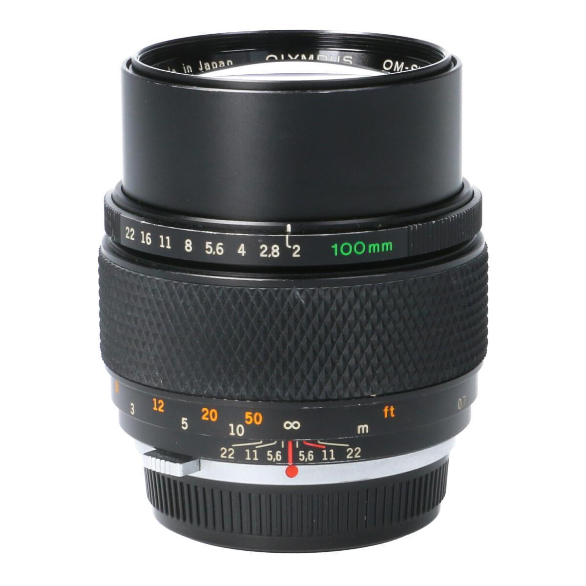 カメラ・ビデオカメラ・光学機器, カメラ用交換レンズ OLYMPUS OM100mm F2