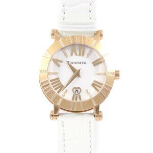 Tiffany & co Z1300.11.31E20C71E Atlas PGx Ceramic / 6 Line D / Index D Quartz [مستعملة]