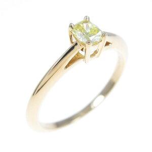 Tiffany钻石戒指0.21ct / FVY / VS1 /垫形切割[二手]