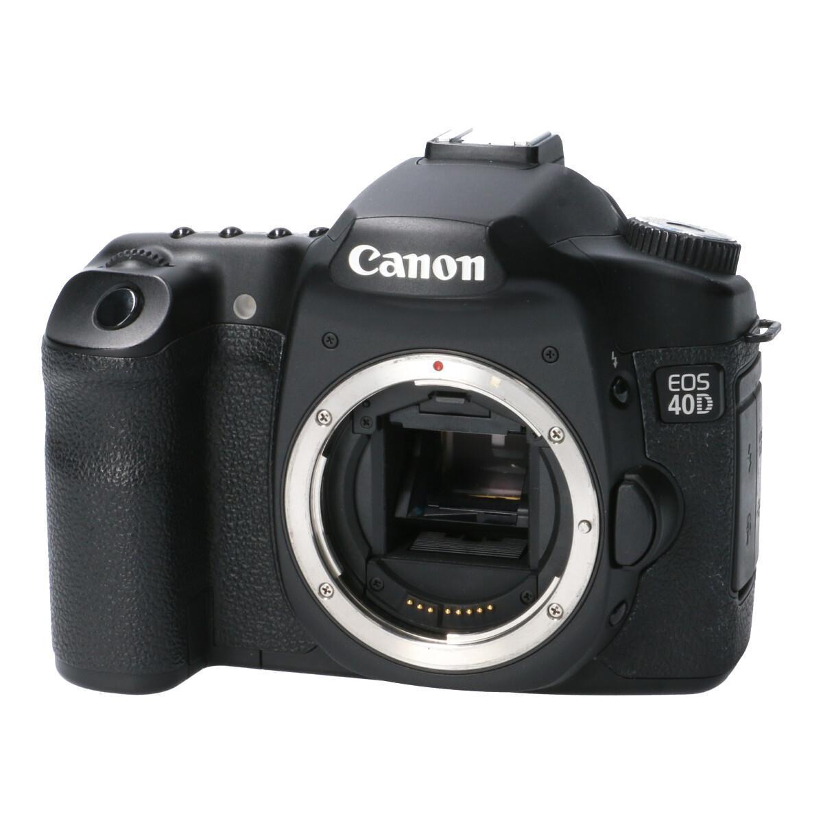 デジタルカメラ, デジタル一眼レフカメラ CANON EOS40D