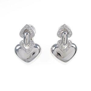 Bvlgari Doppio Quore Earrings [Used]
