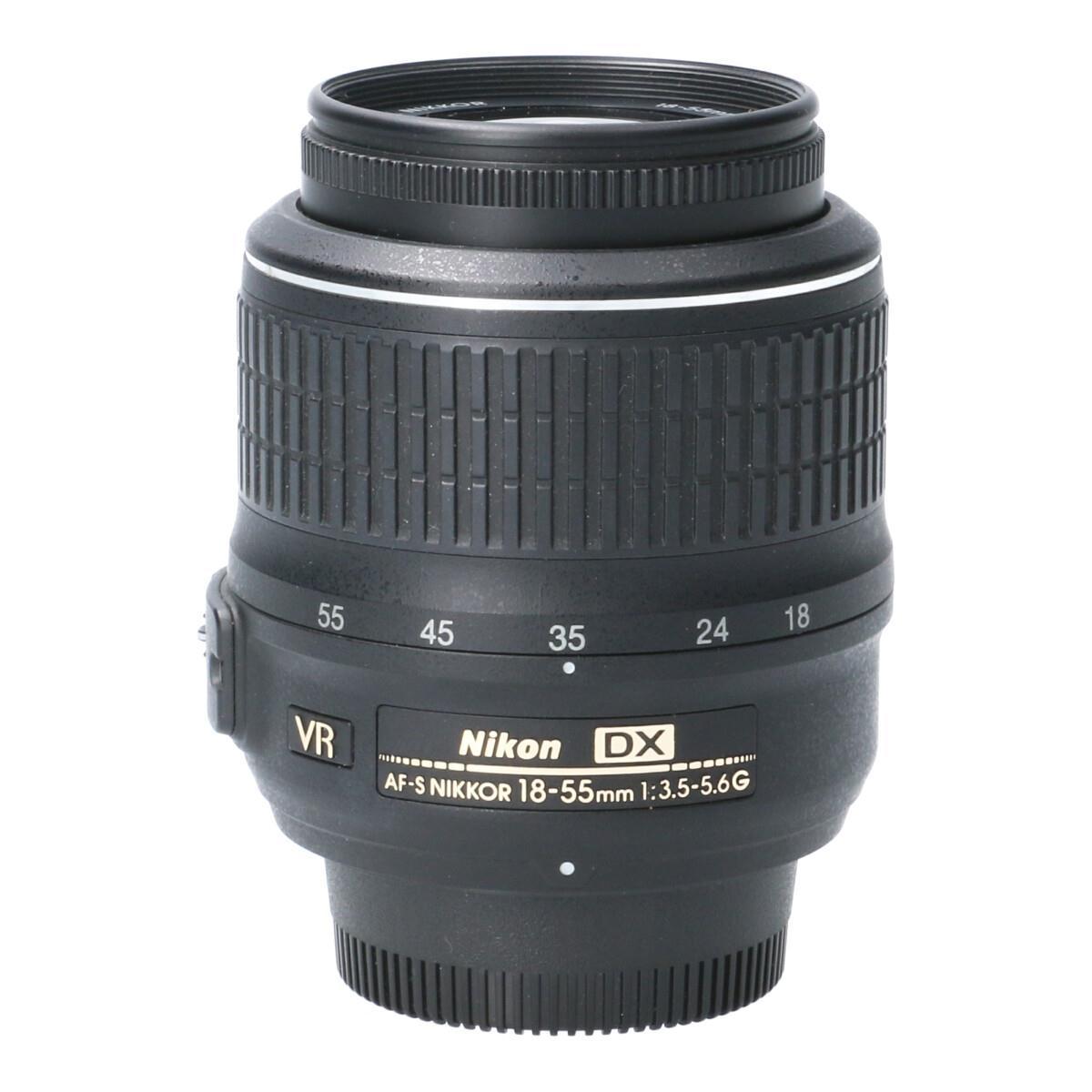 カメラ・ビデオカメラ・光学機器, カメラ用交換レンズ NIKON AFS DX1855mm F3556G VR