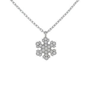 Bvlgari Snowflake Necklace [Used]