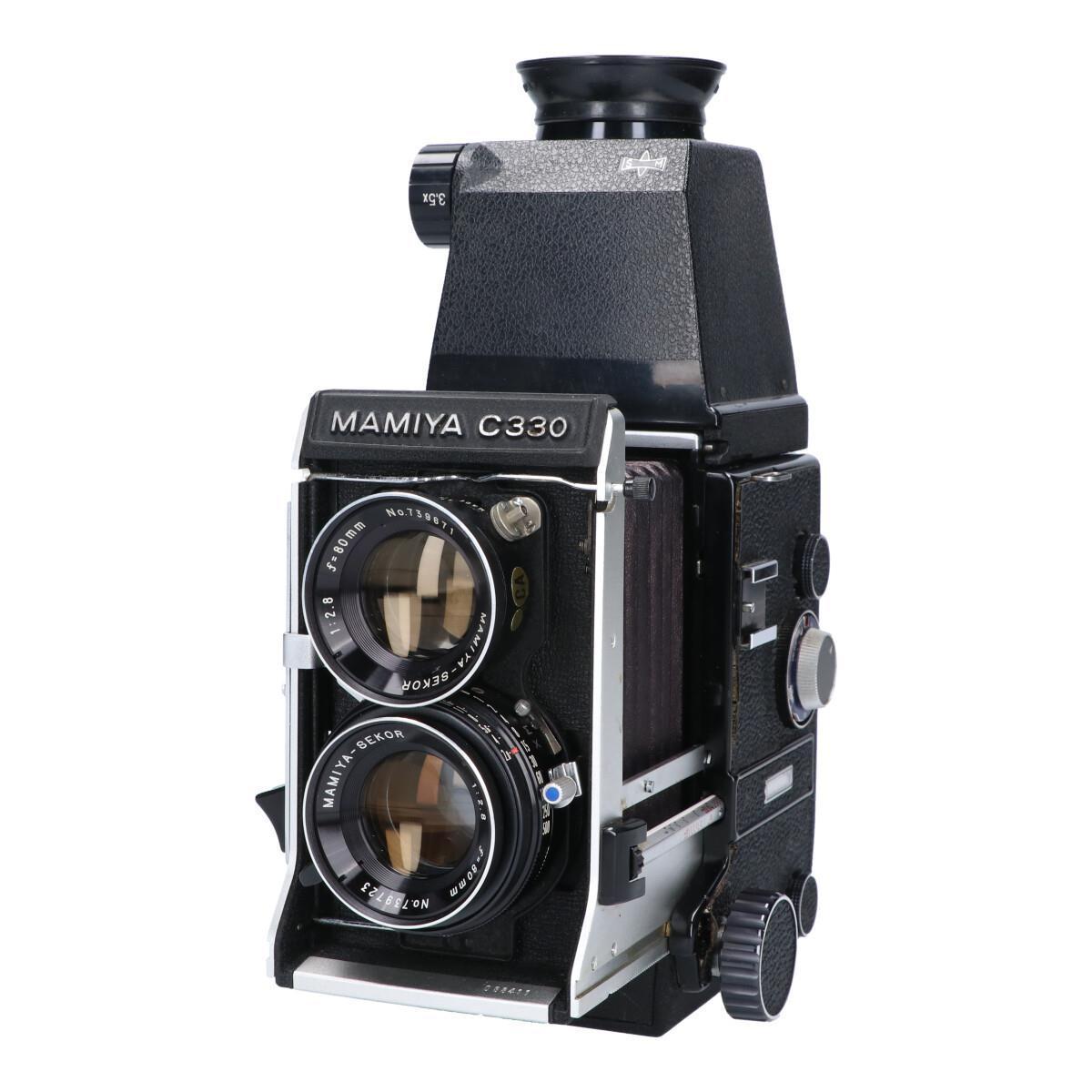 フィルムカメラ, フィルム一眼レフカメラ MAMIYA C330 55mm F4580mm F28135mm F4