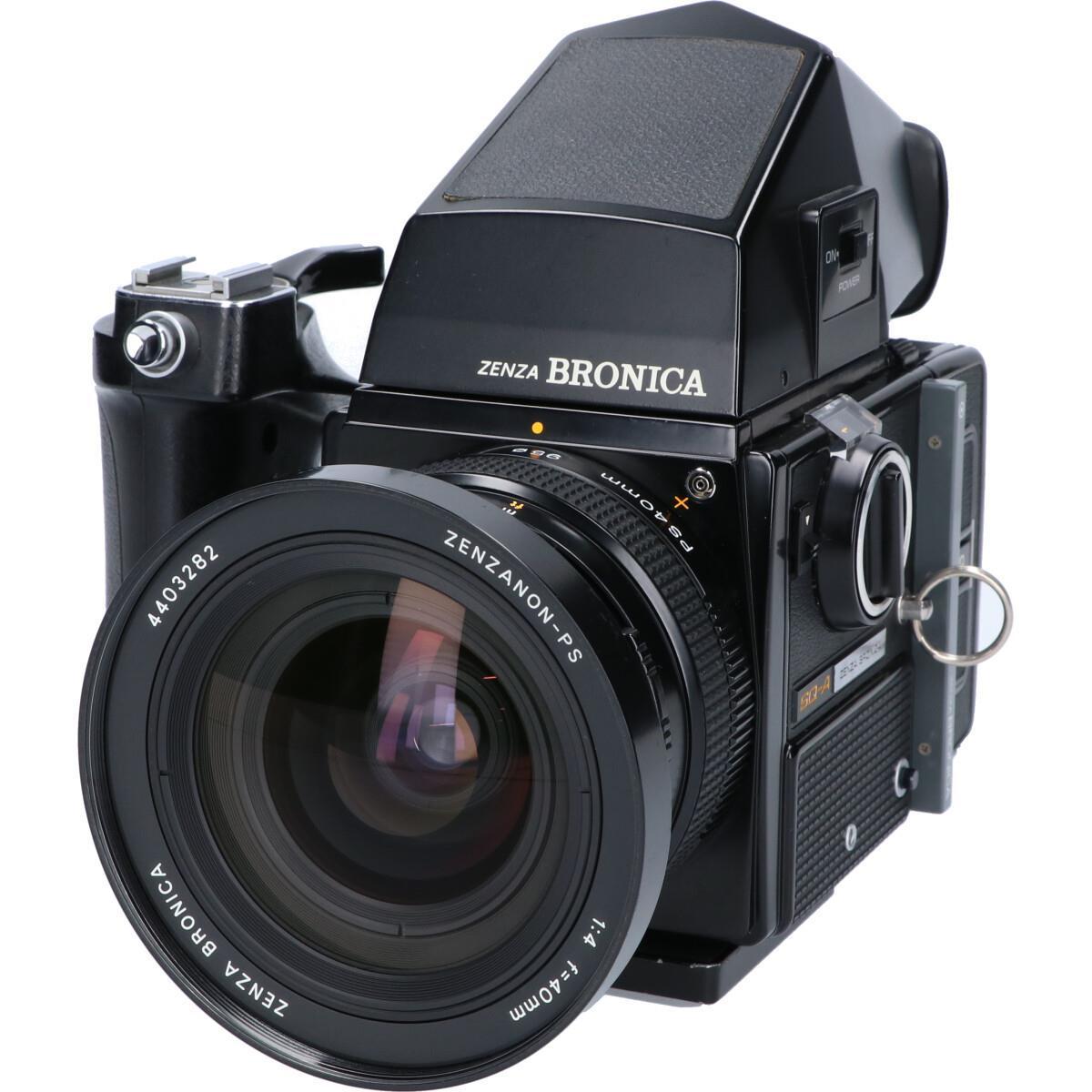 フィルムカメラ, フィルム一眼レフカメラ BRONICA SQA PS404