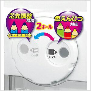 アスカ 電動シャープナー DUO ホワイト 色鉛筆対応 EPS600W【ラッキーシール対応】