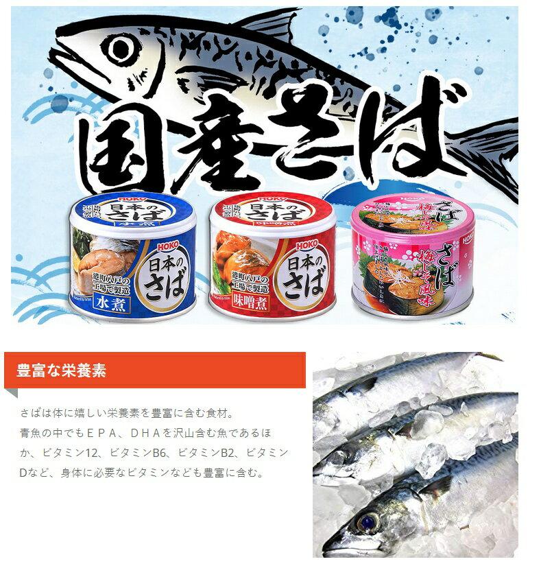 【10個セット】サバ缶 日本のさば 水煮 19...の紹介画像2