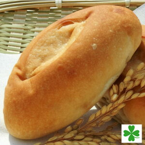 【国産】パン米粉パンコッペパン2個入り愛知産米粉使用オーガニックショートニング使用人気NO.1の定番商品素朴な味が飽きの来ない美味しさおやつに、ご飯に合います
