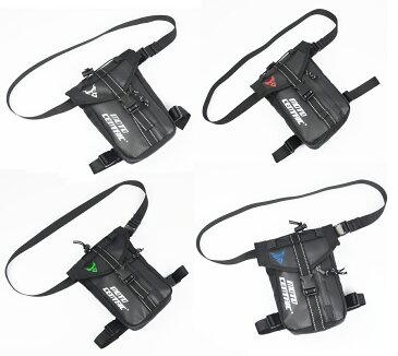 バイク用ウエストバッグ 防水 レッグバッグ ウエストポーチ 2.2L