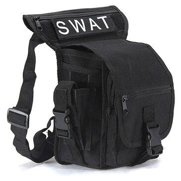 多機能 swat ウエストバッグ アウトドア スポーツ 防水 軍事 バッグ