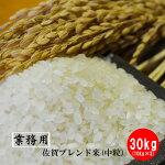 【業務用米】佐賀県産ブレンド米(中粒)30kg(10kg×3)