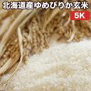 北海道産ゆめぴりか玄米5Kお米【選べる搗き方白米・ハイガ米・玄米・8分つきなど】完全真空包装米(真空包装代 無料)長期保存・鮮度維持・カビ、害虫などの繁殖 防止に♪美味しいご飯。贈り物にも。