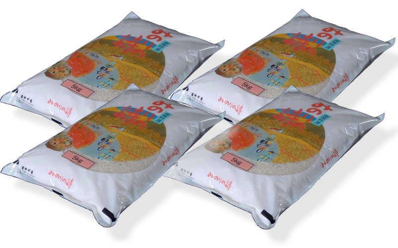 福島県田村産 白米 チヨニシキ 20kg(5kg×4袋) 平成28年産