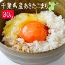30年産 千葉県産あきたこまち30kg 白米【 精米27キロ...