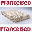 期間限定・設置まで無料! フランスベッド スタイルサポートNo.1 セミダブル/日本製/低反発ウレタン4cm/エッジサポート