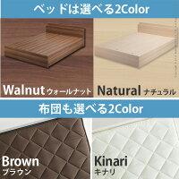 ベッドフレームシングルサイズ+国産3層敷布団セット686