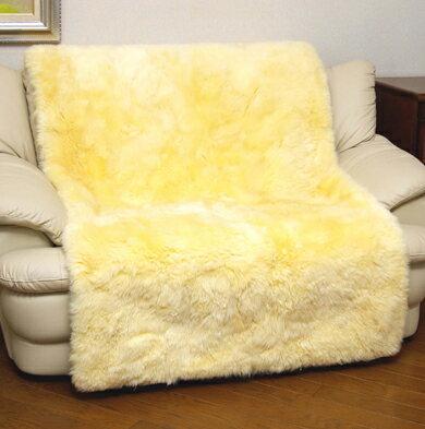 ソファカバー・イスカバー ムートン椅子カバー 2人掛け用長毛タイプでふんわり暖か!二人掛けムートンカバー100×160cmクッションソファ周辺新生活応援貨ムートンラグパッチワークソファーカバーチェアカバー