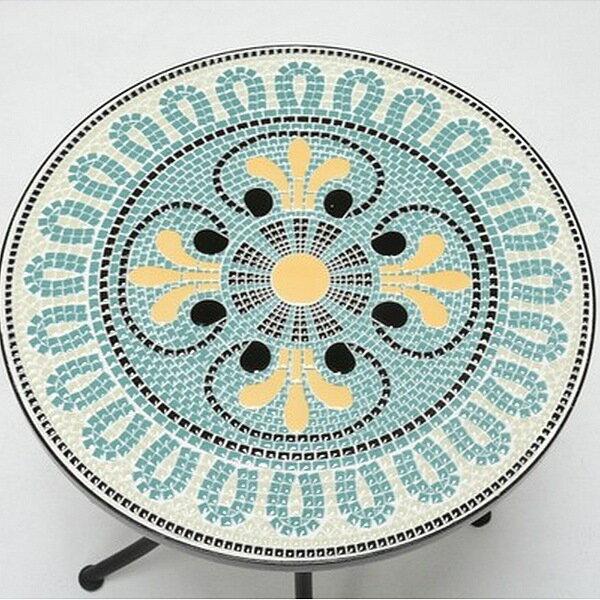 エクステリア・ガーデンファニチャー テーブル モザイクガーデンテーブル LT-4185お庭を華やかに引き立ててくれます LT-4185 テーブル BBQ 机 ガーデンテーブル ガーデンテーブル ガーデンテーブル テーブル BBQ モダン おしゃれ