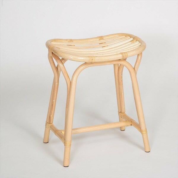 ラタン らくらく 籐椅子 イス・チェア スツールST11NA スツール 腰掛 玄関 脱衣所 便利 和風 ナチュラル