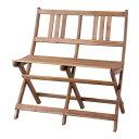 バイロン 折りたたみチェア 2人掛 アウトドア 椅子・テーブ...
