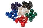多面体 サイコロ ダイス セット 4面 6面 8面 10面 12面 20面 おもしろい おもちゃ TRPG RPG ボードゲーム すごろく ゲーム 収納袋 つき