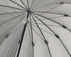 傘メンズ「甲州織・裏縞(うらしま)」日本製<65cm16本骨>男性雨傘骨が多い風に強いカーボン丈夫耐風ボーダー長傘大きい大判濡れない高品質贈り物高級カーボン