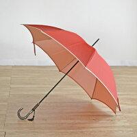 傘レディース長傘日本製雨傘晴雨兼用おしゃれ60cm8本骨大人かわいい可愛い「甲州織かさね」軽い軽量大きい大判丈夫風に強い耐風日傘UVカット遮光無地カーボン骨手開き雨晴兼用