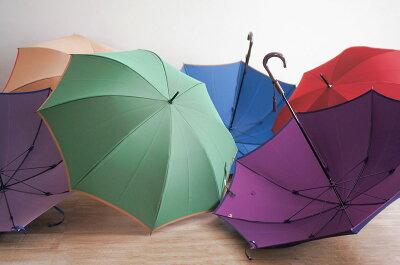 傘 レディース ブランド 小宮商店 長傘 日本製 雨傘 雨晴兼用 おしゃれ 60cm 8本骨 大人 かわいい 可愛い 「甲州織 かさね」 軽い 軽量 大きい 大判 丈夫 風に強い 耐風 日傘 UVカット 遮光 無地 カーボン骨 手開き 晴雨兼用・・・ 画像1