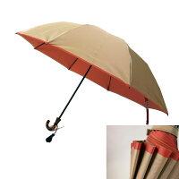丈夫な日本製・折りたたみ傘8本骨55cm甲州織両面傘「かさね」|女性(レディース)2段折りたたみ傘雨傘・日傘・晴雨兼用傘