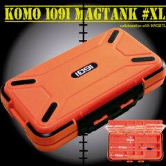 細部にまでこだわったKOMO仕様アイテムです。高機能タックルケース KOMO1091マグタンク#XL [...