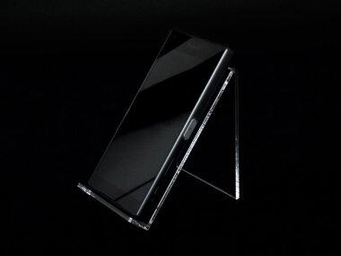 アクリル製スマートフォンスタンドスマ台
