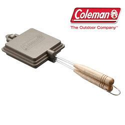 コールマン[Coleman]170-9435(ワンカラー)ホットサンドイッチクッカー【ランタンマーク刻印】【取りはずし可能なハンドル】【コンパクト収納】【ツーバーナー用】〜メーカー取寄商品のため納期が平均3〜4営業日かかります