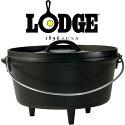 ロッジ[LODGE]ロジックダッチオーブン本体01033505(ワンカラー)キャンプオーブン深型(10)インチシーズニング済