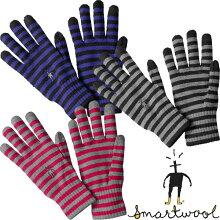 スマートウールグローブSW65340ストライプドライナーグローブ【StripedLinerGloves】【ウール手袋】【ニットグローブ】【タッチパネル対応】【ウールグローブ】【楽ギフ_包装】【RCP】