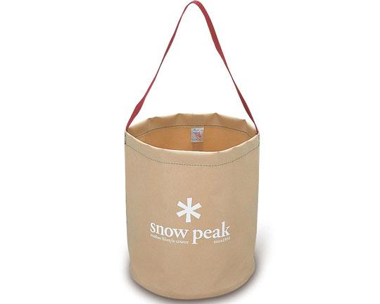 スノーピーク(SnowPeak)『キャンプバケツ(FP152)』