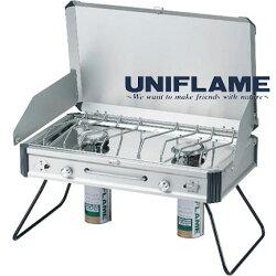 ユニフレーム[UNIFRAME]610305(ワンカラー)ツインバーナーUS−1900〜メーカー取寄商品のため納期が平均3〜4営業日かかります