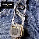 ナイトアイズ カラビナ LSB2R3 エスビナースライドロック#2 Sビナー キーホルダー エスバイナー Sバイナー
