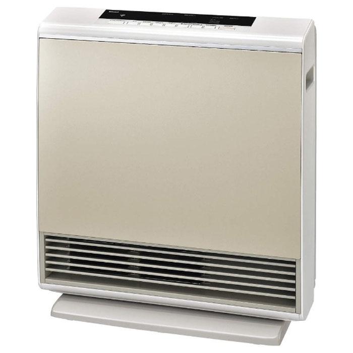 プラズマクラスター機能付 ガスファンヒーター LPガス ゴールド(コンクリ15畳まで)A-Style プロパンガス 暖房器具 ストーブ 暖房 リンナイ RC-N4001NP-GD LP
